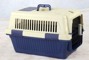 PettOn - transportēšanas konteiners dzīvniekiem, zils