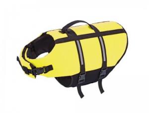 Nobby Glābšanas veste suņiem - neona dzeltena L 40cm