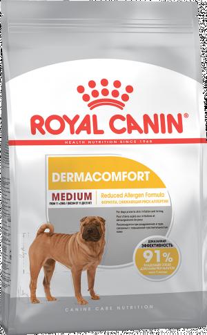 Royal Canin CCN MEDIUM DERMACOMFORT 3kg
