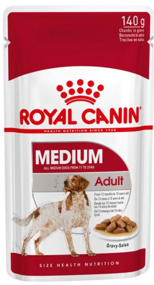 Royal Canin SHN MEDIUM ADULT WET  (140g x 10gab)