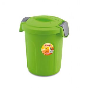 STEFANPLAST TOM Food - ābolu zaļš konteiners 46L 44,5x40x61