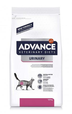 ADVANCE VETERINARY DIETS URINARY sausā barība kaķiem 1.5kg