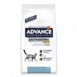ADVANCE VETERINARY DIETS GASTROENTERIC SENSITIVE sausā barība kaķiem 1.5kg