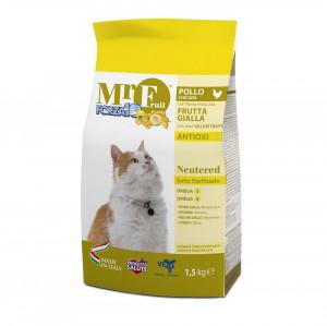Forza10 Mr.Fruit NEUTERED sausā barība sterilizētiem kaķiem 1.5kg