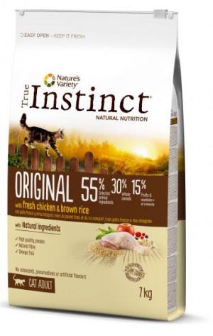 True Instinct Original Adult - Pieaugušiem kaķiem (vista un rīsi) 7kg
