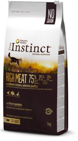 True Instinct High Meat Adult - Pieaugušiem kaķiem (vista un darzeņi) 7kg