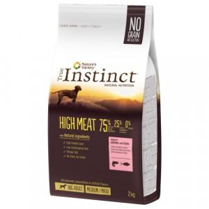 True Instinct High Meat Medium/Maxi Adult - Lielo un vidējo šķirņu suņiem (lasis un tuncis) 12kg