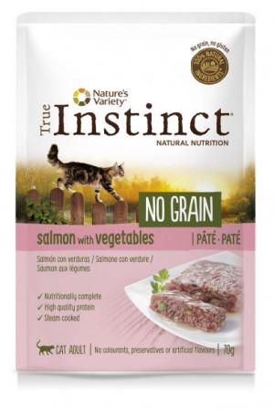 True Instinct No Grain Cat Salmon - Konservēta barība-pastēte kaķiem (lasis) 8 x 70g