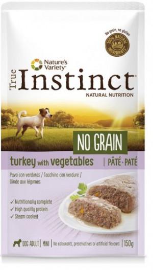 True Instinct No Grain Turkey - Konservēta barība-pastēte suņiem (100% tītars) 8 x 150g