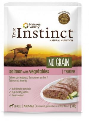 True Instinct No Grain Maxi Salmon - Konservēta barība-pastēte suņiem (100% lasis) 8 x 300g