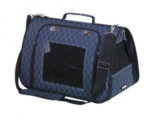 NOBBY ''KALINA'' - zila transportēšanas soma dzīvniekiem 44 x 25 x 27cm