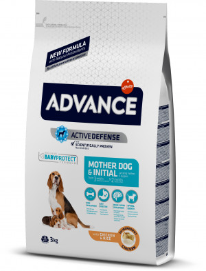 ADVANCE DOG Mother & Initial - Kucēniem 3kg