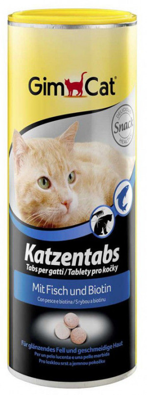 GIMBORN CAT TABS WITH FISH 710gab