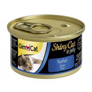 GIMBORN Shinycat GimCat Tuna ar tunci želejā 12gab x 70g