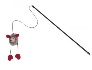Nobby Teaser With Plush Mouse rotaļlieta kaķiem