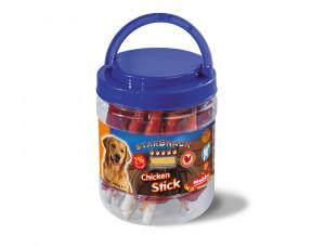 Nobby StarSnack Barbecue Chicken Stick gardums suņiem 450g