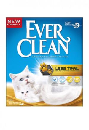 Ever Clean Less Trail Cat Litter garspalvainiem kaķēniem un kaķiem 10L