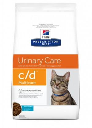 HILLS PD C/D Hill's Prescription Diet Multicare Feline Ocean Fish 5kg