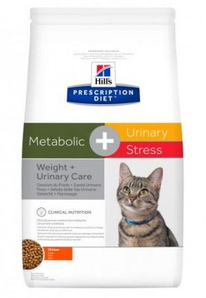 HILLS PD META Hill's Prescription Diet™ Metabolic + Urinary Stress Feline Chicken 4kg