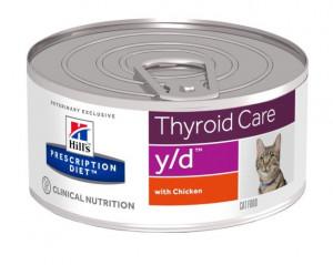 HILLS PD Y/D Hill's Prescription Diet Feline ar vistu 156g