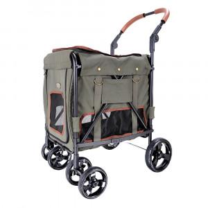 Innopet Gentle Giant Pet Wagon – Army Green ratiņi 55 x 67 x 96 cm