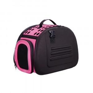 Innopet Collapsible Traveling Shoulder Carrier Lady Pink - transportēšanas soma dzīvniekiem 46 x 30 x 32 cm