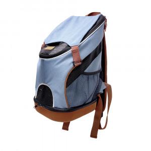 Innopet Denim Fun Lightweight Pet Backpack - mugursoma dzīvnieku transportēšanai 30 x 30 x 49 cm