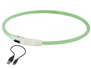 "NOBBY LED izgaismojoša kaklasiksna ""VISIBLE"" zaļa"