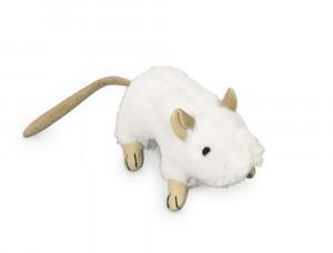 NOBBY Plush Mouse rotaļlieta ar kaķu zāli