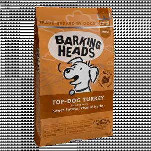 Barking Heads Top-Dog Turkey 12 kg