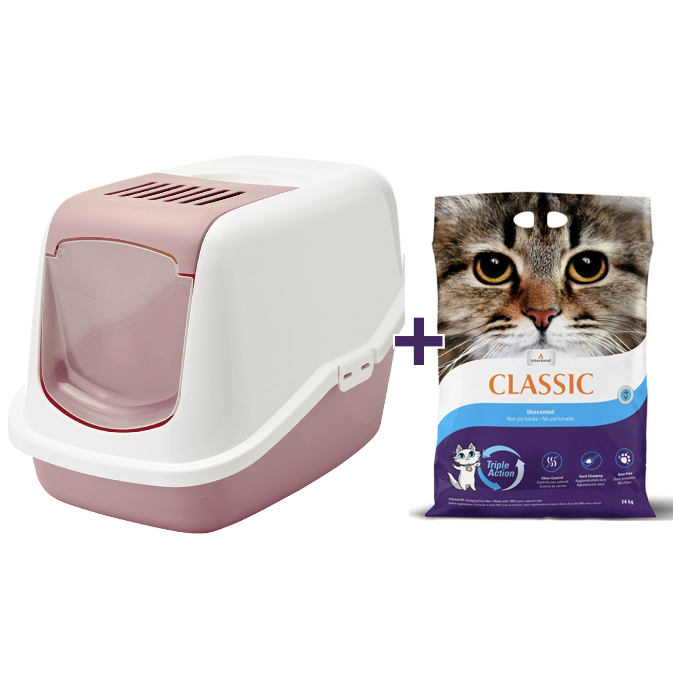 "NOBBY ""Nestor"" tualete kaķiem + Smiltis"