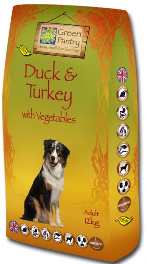 Green Pantry Duck & Turkey with Sweet Potato 2kg