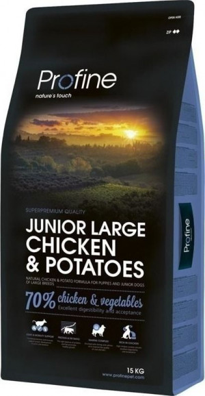 Profine Dog JUNIOR Large Breed Chicken&Potatoes 15kg