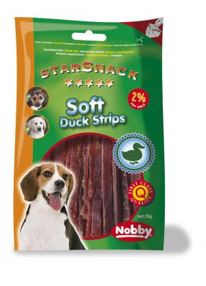 NOBBY StarSnack Soft Duck Strips 70g