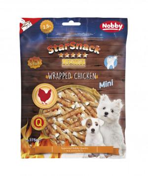 NOBBY StarSnack BBQ MINI Wrapped Chicken 375g