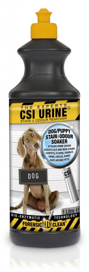 CSI URINE® Stain & Odour Remover DOG Suņu urīna smakas noņēmējs 1L