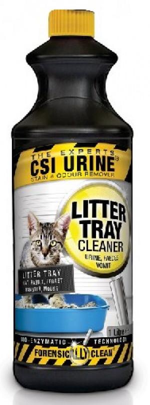 CSI URINE® Litter Tray Cleaner Urīna smakas noņēmējs kaķu tualetei 1L