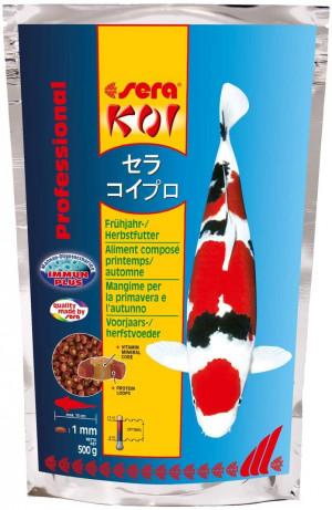 SERA Koi Professional Spring/Autumn Food 500g