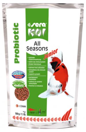 SERA Koi Junior All Seasons Probiotic 500g