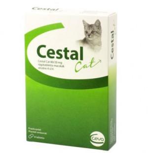 Cestal Cat Flavour tabletes kaķu attārpošanai N1