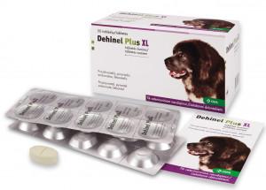 Dehinel Plus XL tabletes  liela auguma suņu attārpošanai  6tabl/  N6