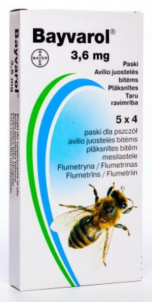 BAYVAROL 3.6 mg SLOKSNĪTES BITĒM N4x5