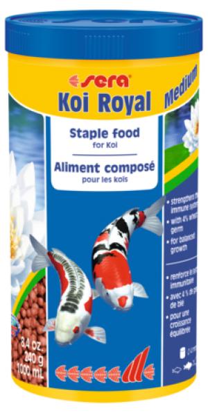 SERA Koi Royal Medium 1000 ml (240g)