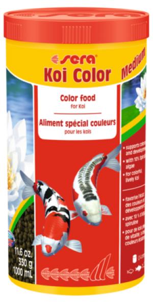 SERA Koi Color Medium 1000 ml (360g)