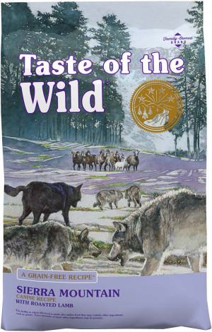 TOW Taste Of The Wild Sierra Mountain Canine Dog Formula 2 kg