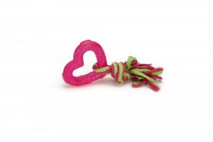Beeztees Virve ar sirsniņu(rozā)