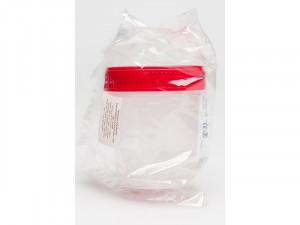 Konteiners analīžu materiāla savākšanai, sterils,  100 ml