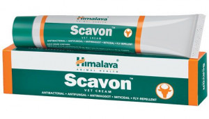 HIMALAYA SCAVON VET CREAM 50g antiseptiska, antibakteriāla ziede
