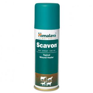 HIMALAYA SCAVON VET SPRAY antiseptisks, antibakteriāls smidzināms līdzeklis 100ml