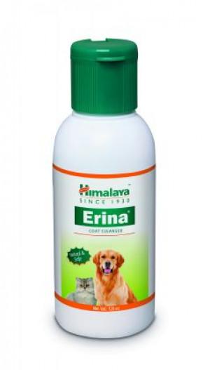 HIMALAYA ERINA COAT CLEANSER - dziļi attīrošais šampūns dzīvniekiem 120ml